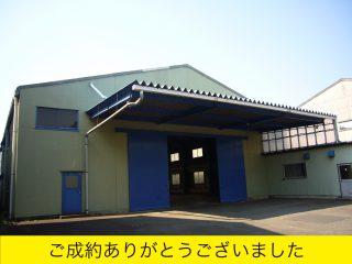 遠藤の大型賃貸ガレージ
